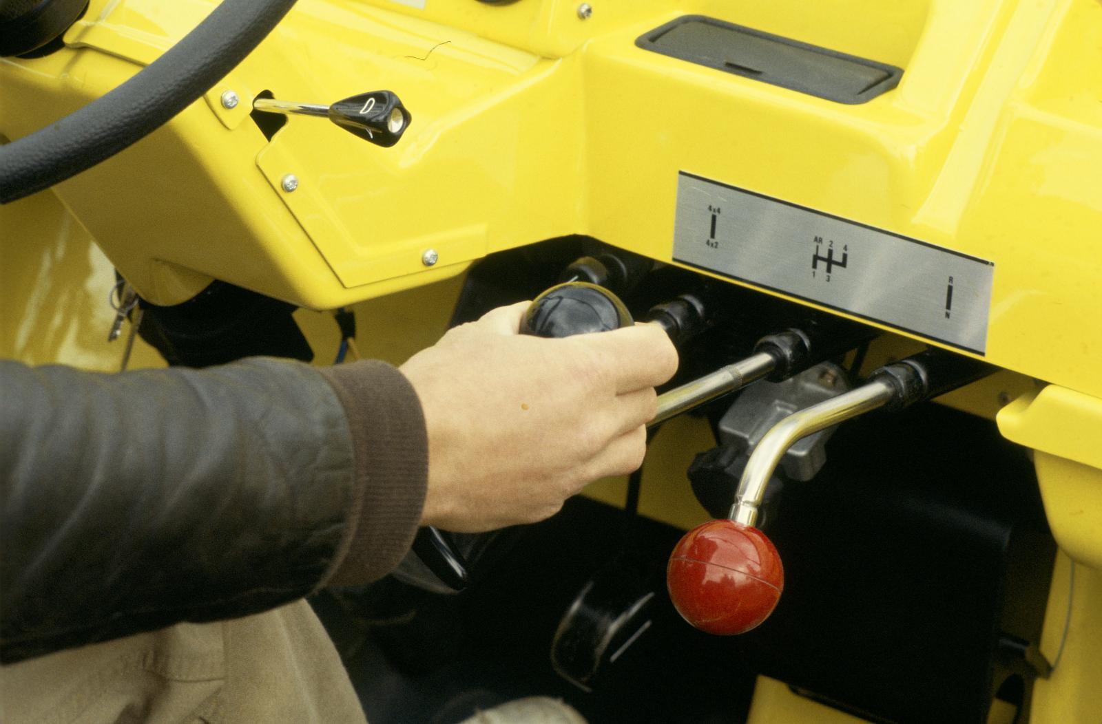 Méhari 1979 4x4 leviers de vitesses