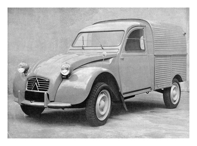 2CV AZU 1961