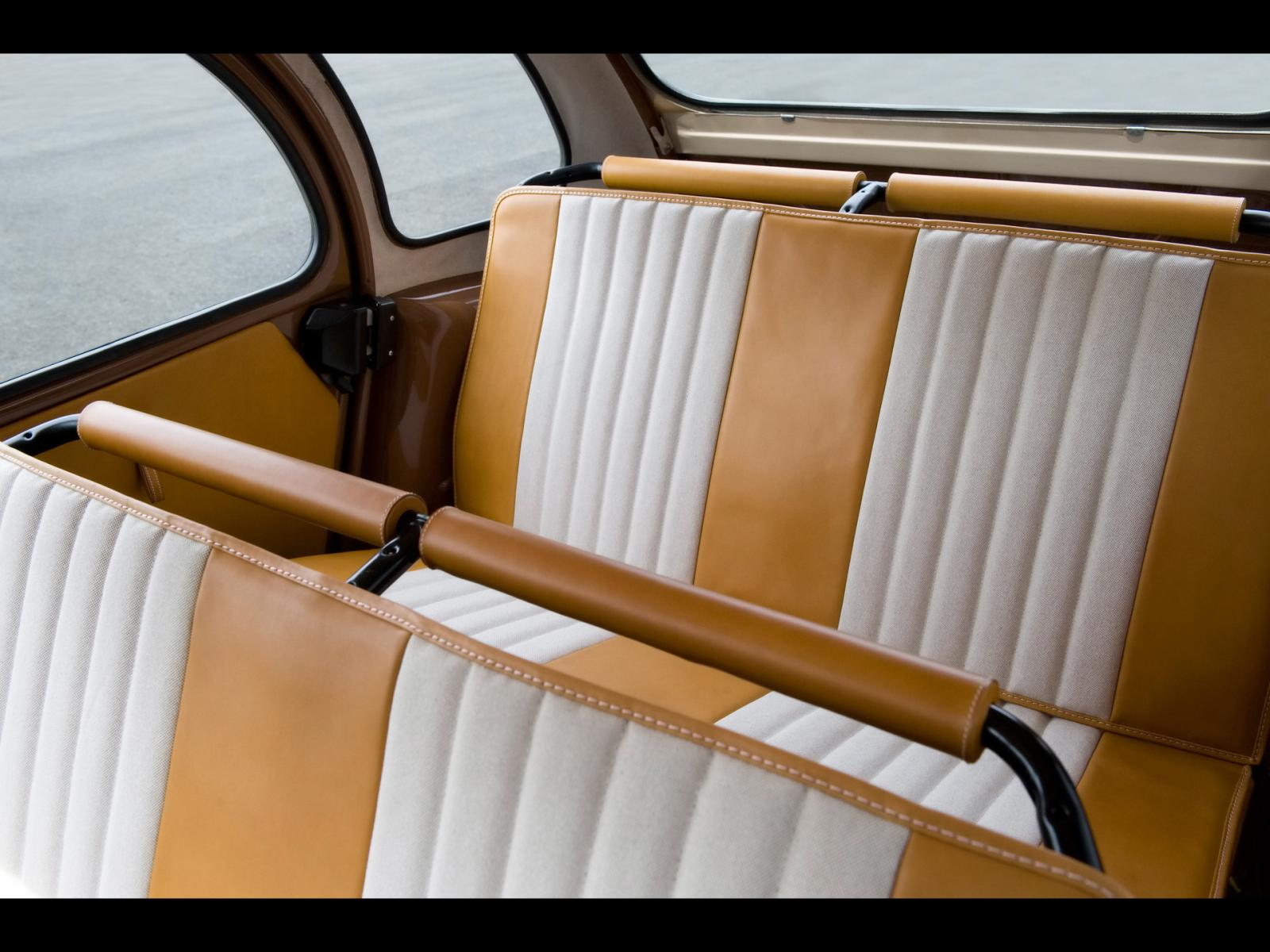 2CV Hermes 2008 sièges