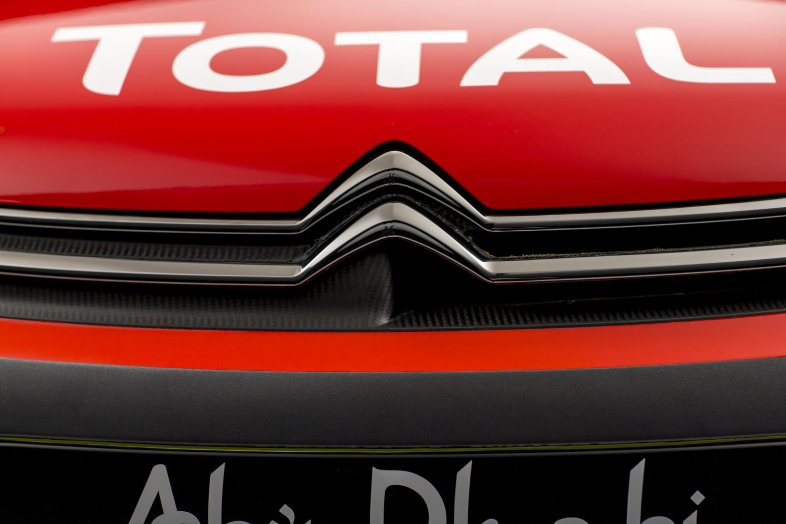C3 WRC. Решетка радиатора