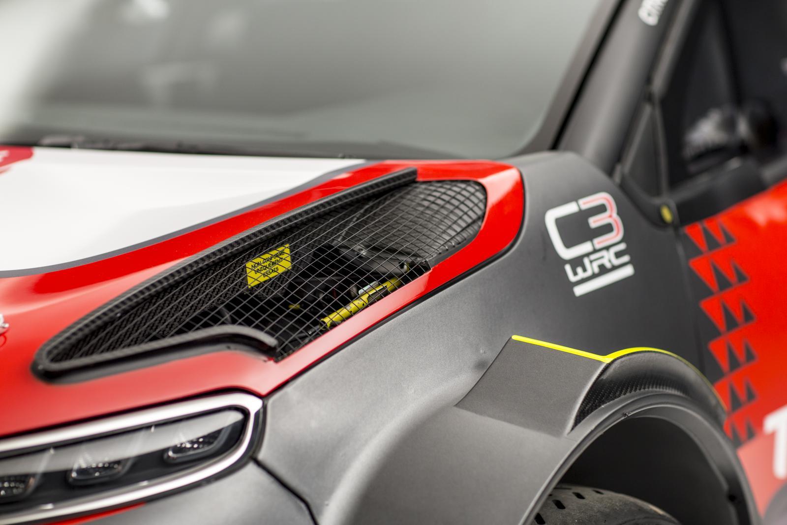 C3 WRC. Аэродинамическое устройство