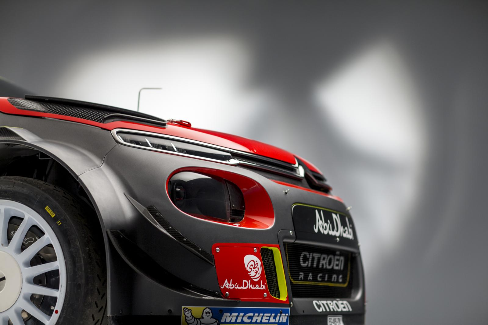 C3 WRC. Передний профиль