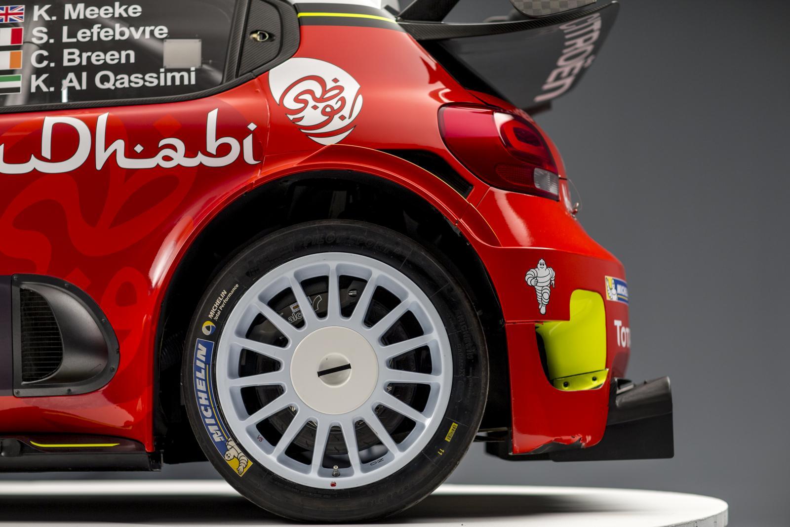 C3 WRC. Задний профиль