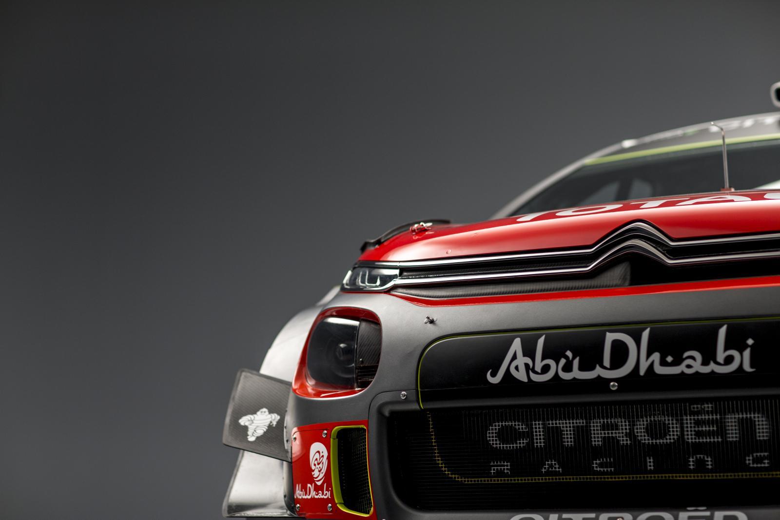 C3 WRC. 3/4 спереди
