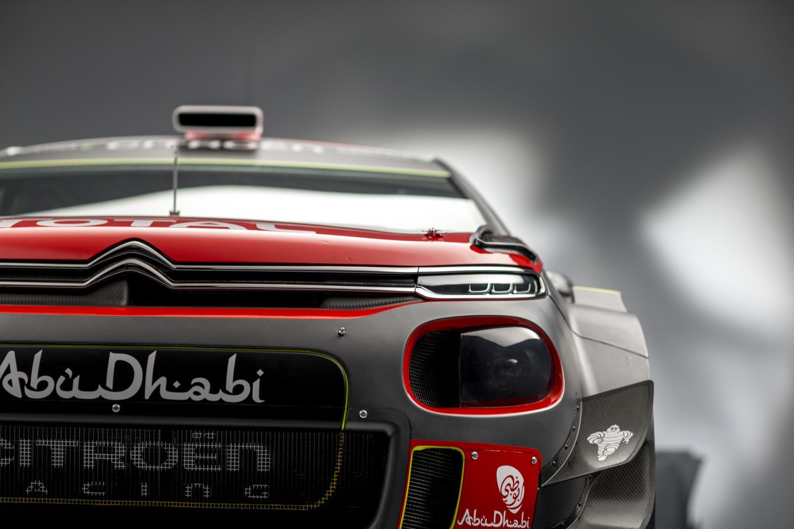 C3 WRC. Вид спереди