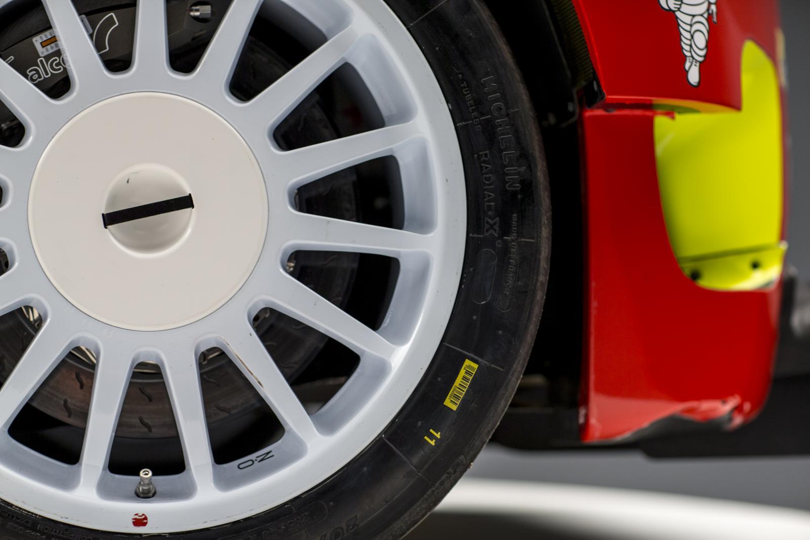 C3 WRC. Переднее колесо
