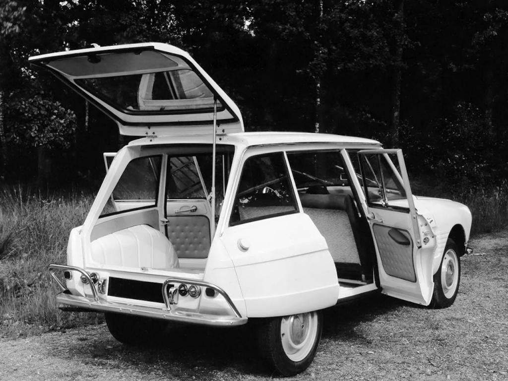 AMI 6 Break de 1965 3/4 arrière
