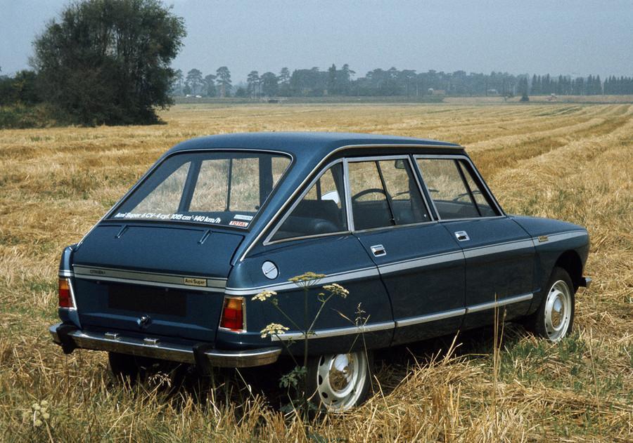 AMI Super Berline 1974 3/4 arrière version plus puissante