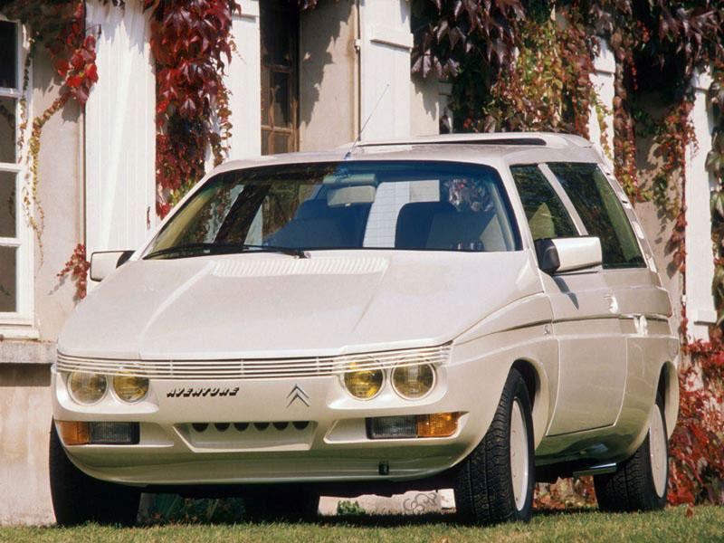 Aventure 1986 concept par Sbarro sur base C15