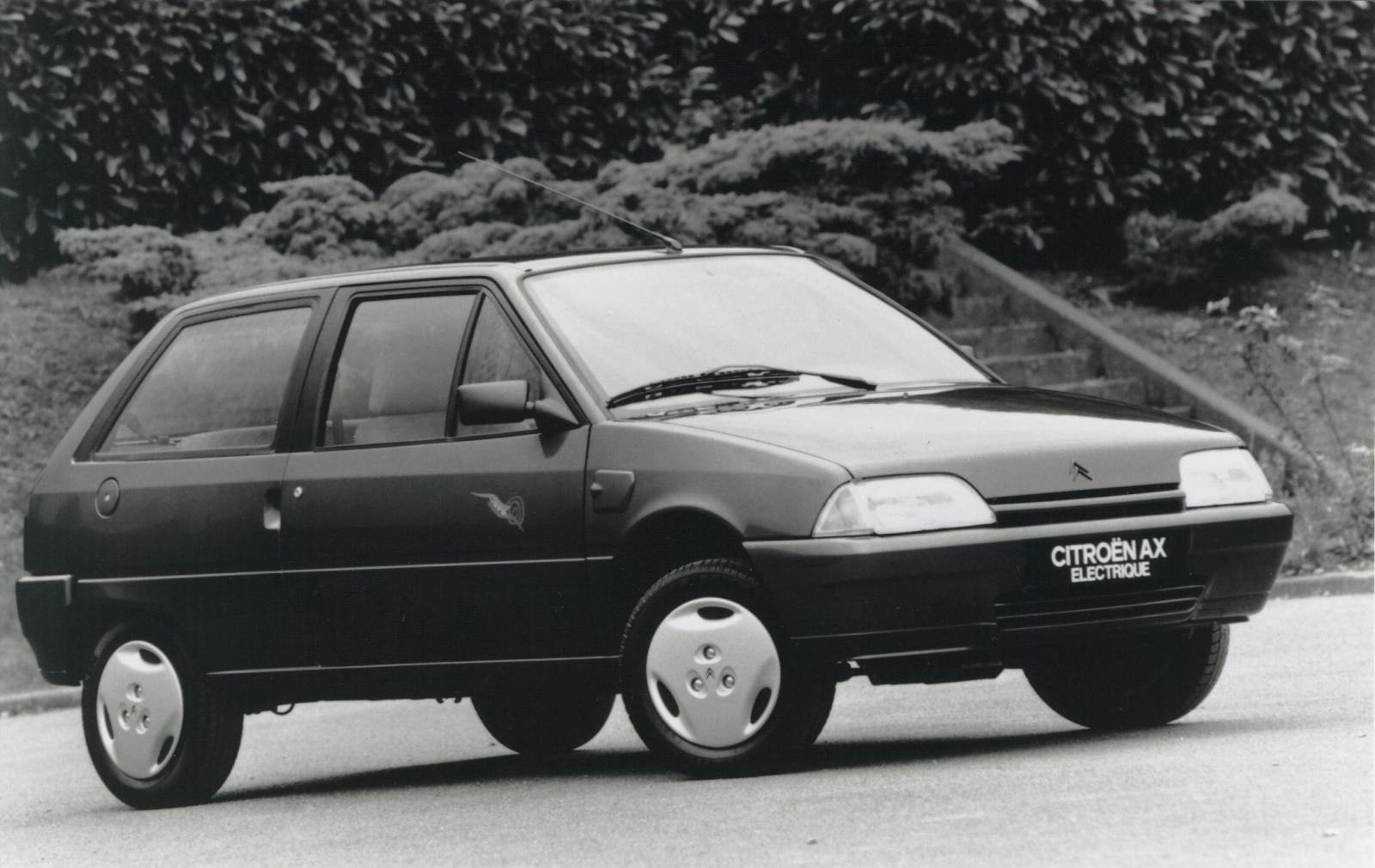 AX Electrique 3 Portes de 1995 3/4 AV