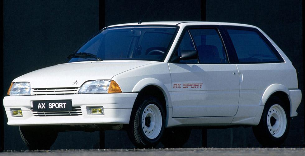 AX Sport 3 portes 1986 3/4 AV