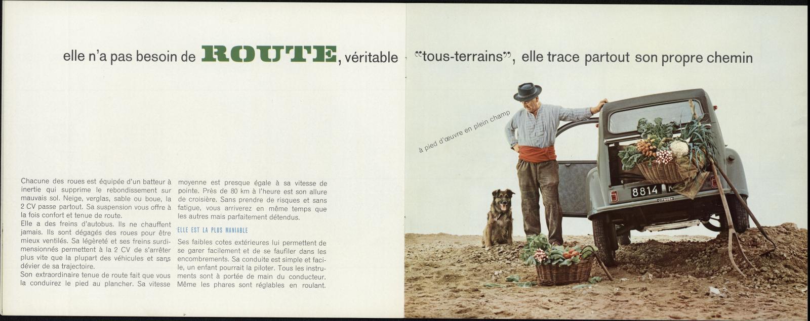 Brochure 2 CV 1961