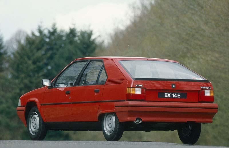 BX 14 E 1986 3/4 arrière