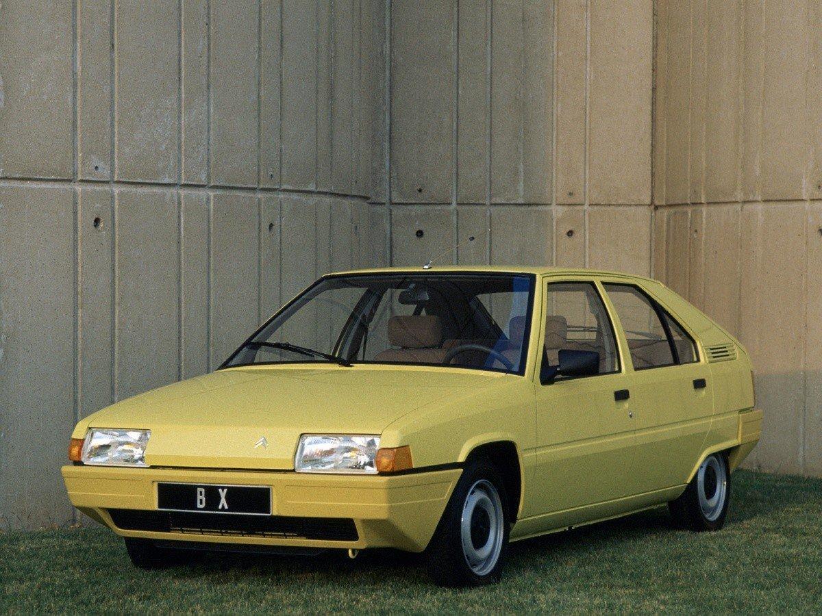BX 1982 version entrée de gamme 3/4 avant