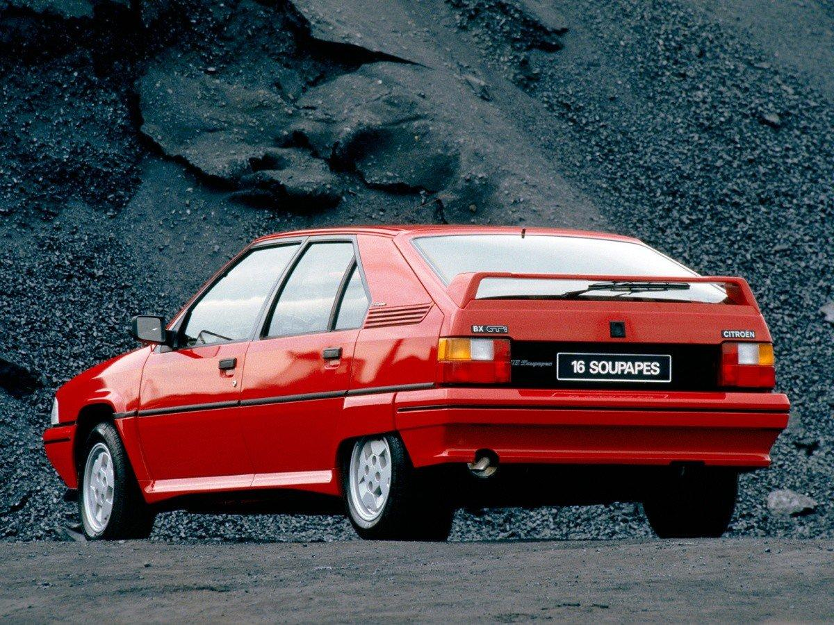 BX 19 GTI 16S 1987 3/4 arrière