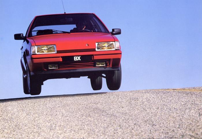BX 19 GTI 1986 face avant