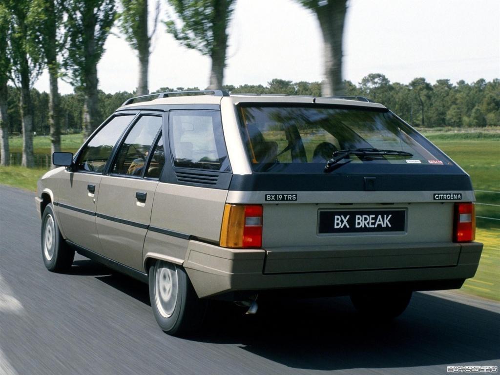 BX 19 TRS Break 1985