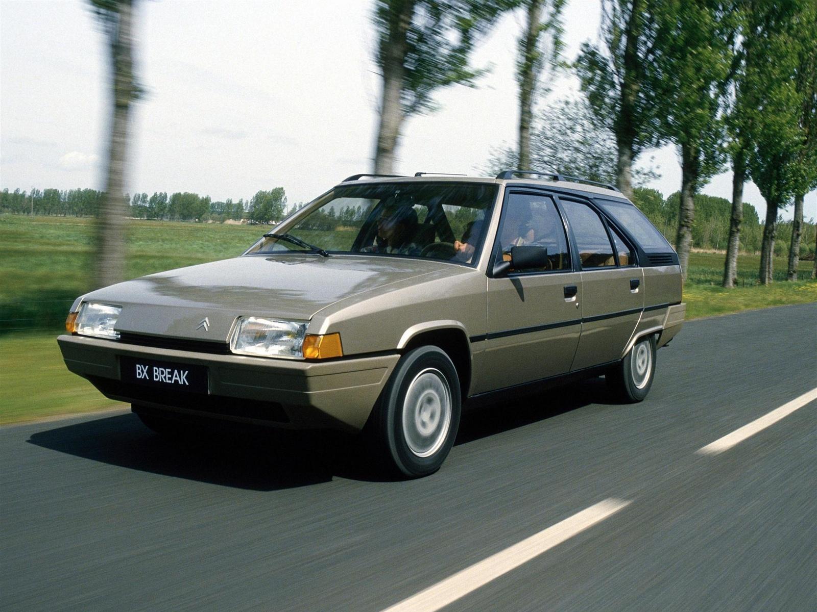 BX 19 TRS Break 1985 3/4 avant
