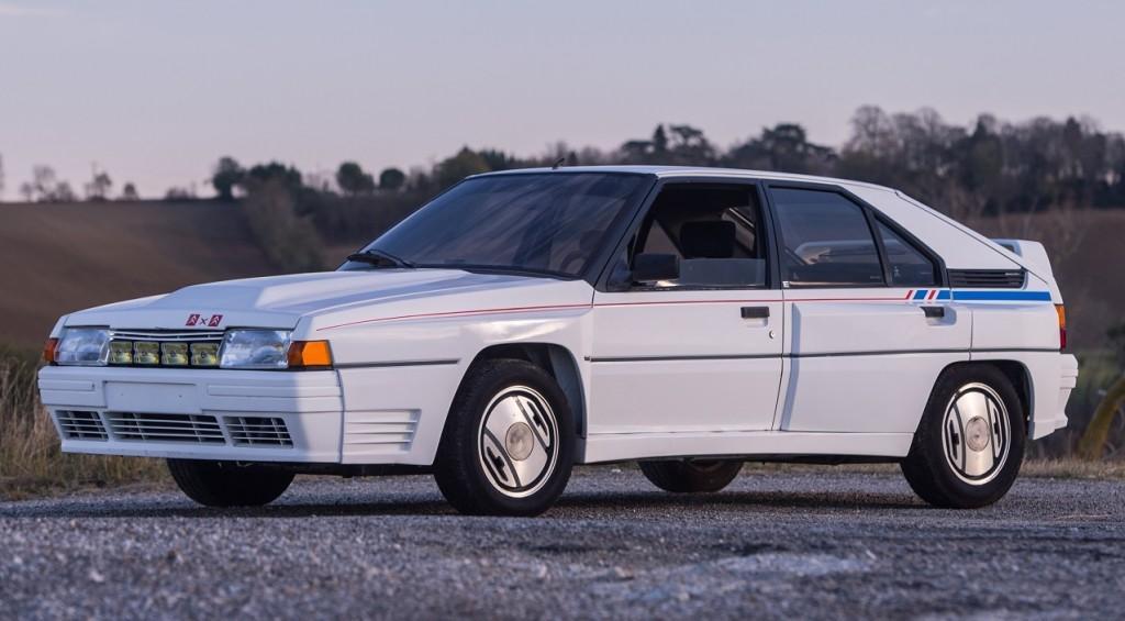 BX 4TC 1986 compétition