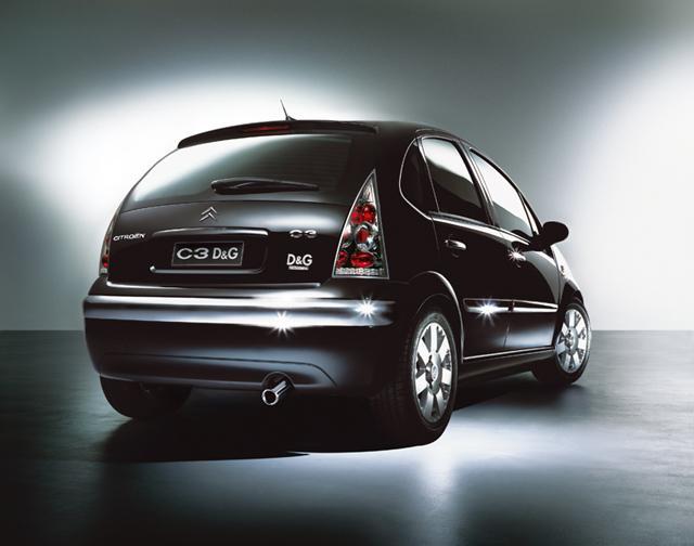 C3 D&G 2004 3/4 arrière
