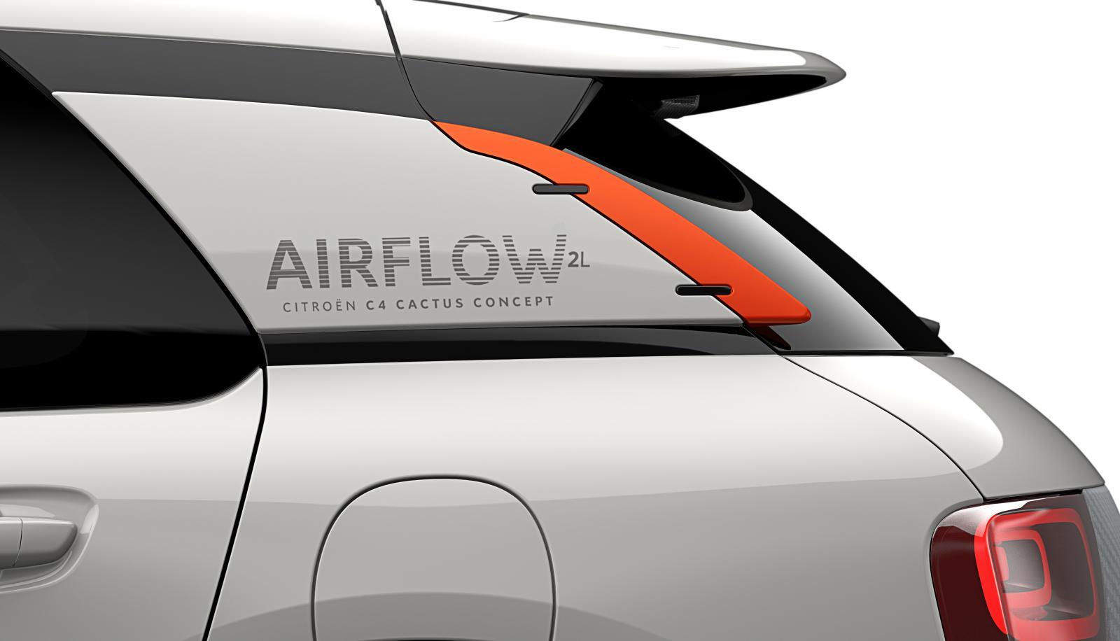 Concept-Car C4 Cactus Airflow 2014 custode arrière