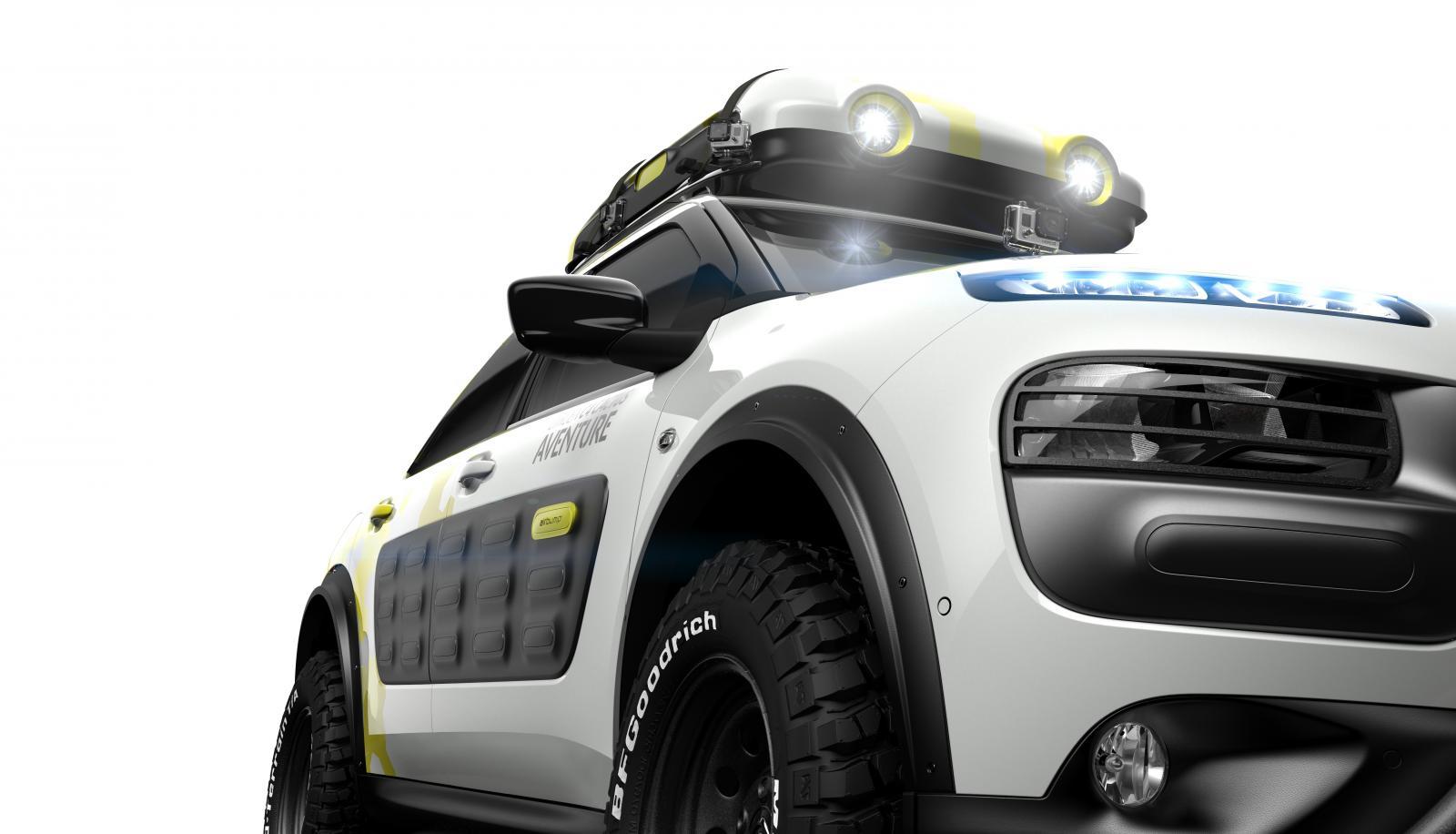 Concept-Car C4 Cactus Aventure 2014 avant