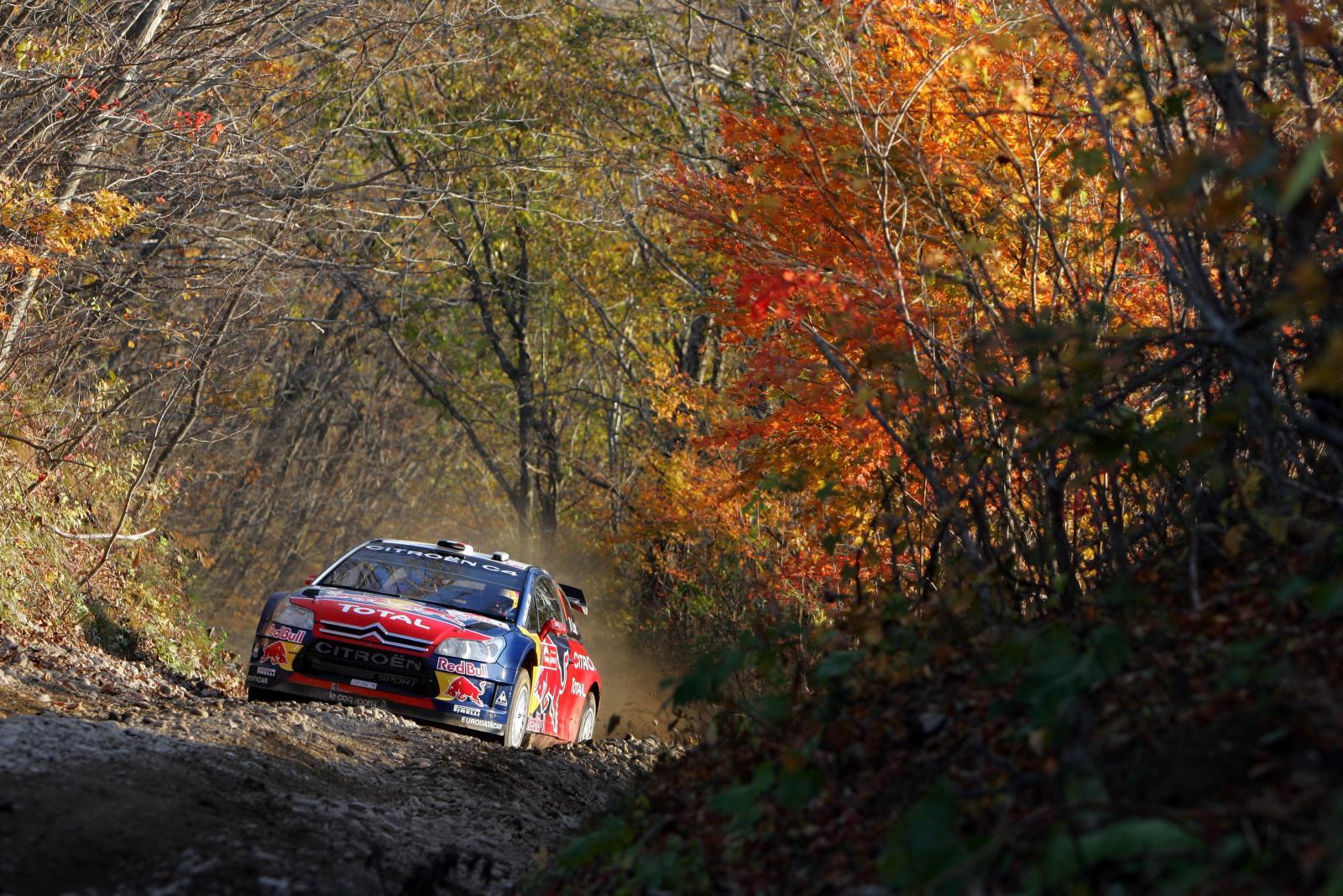 C4 WRC 2008 au Japon