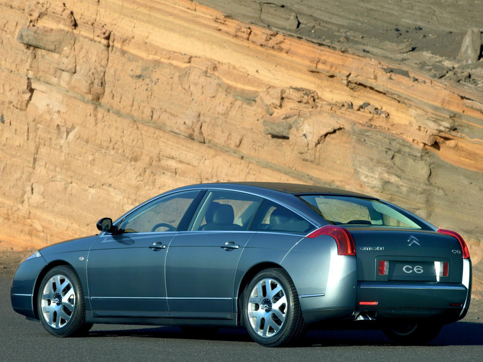 C6 2005 3/4 arrière