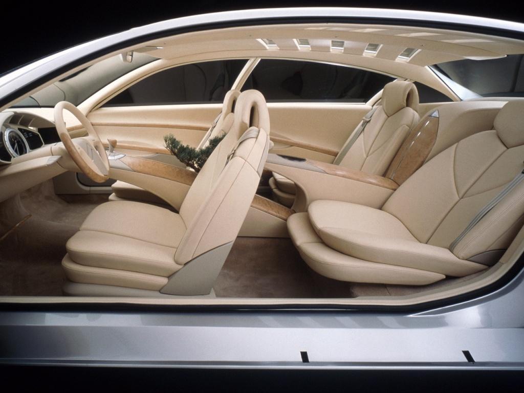 Intérieur C6 Lignage concept préfigurant la C6