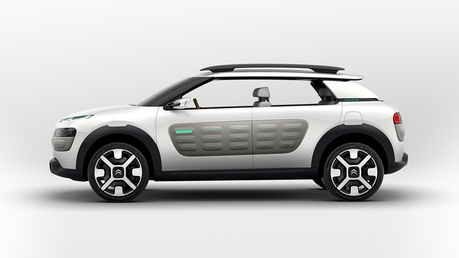 Concept-Car Cactus 2013 latérale