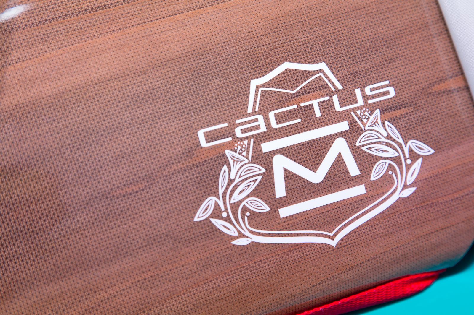 Cactus M 2015 logo sur barre de toit