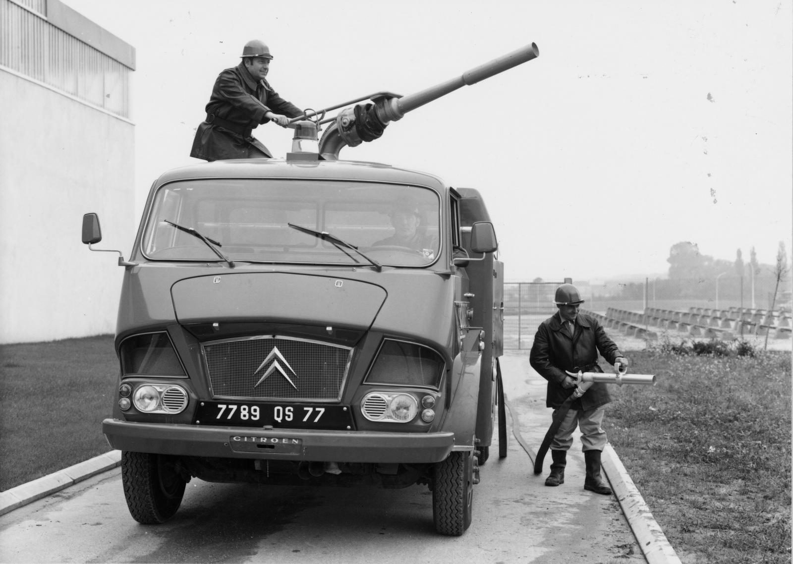 Грузовик типа 350, пожарный. 1967 г.