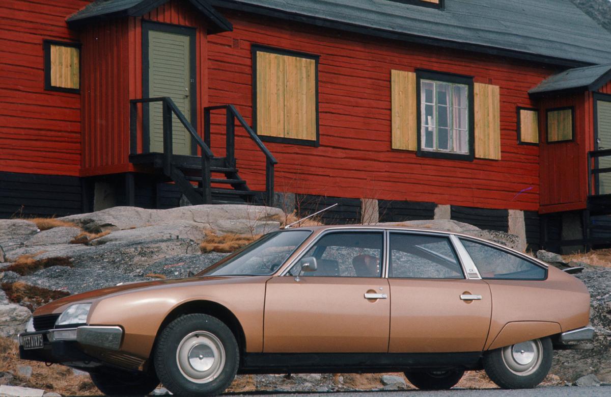 CX Confort 2000 1974 profil