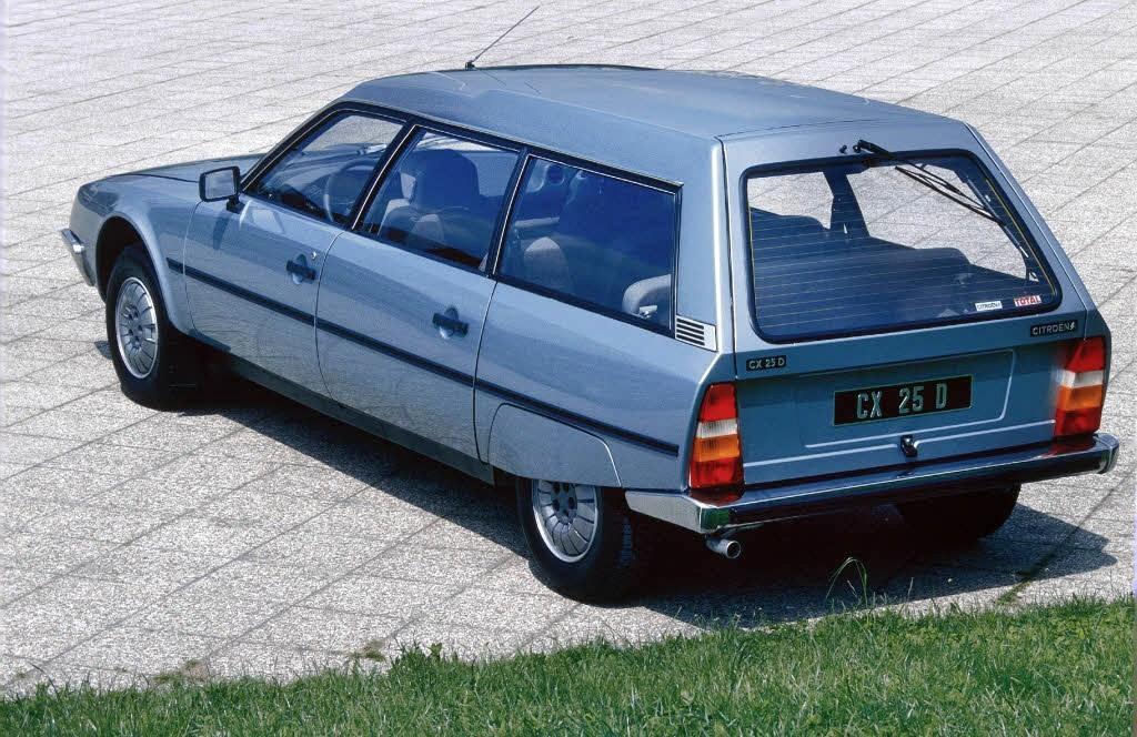 CX 25 D Break 1983 3/4 arrière