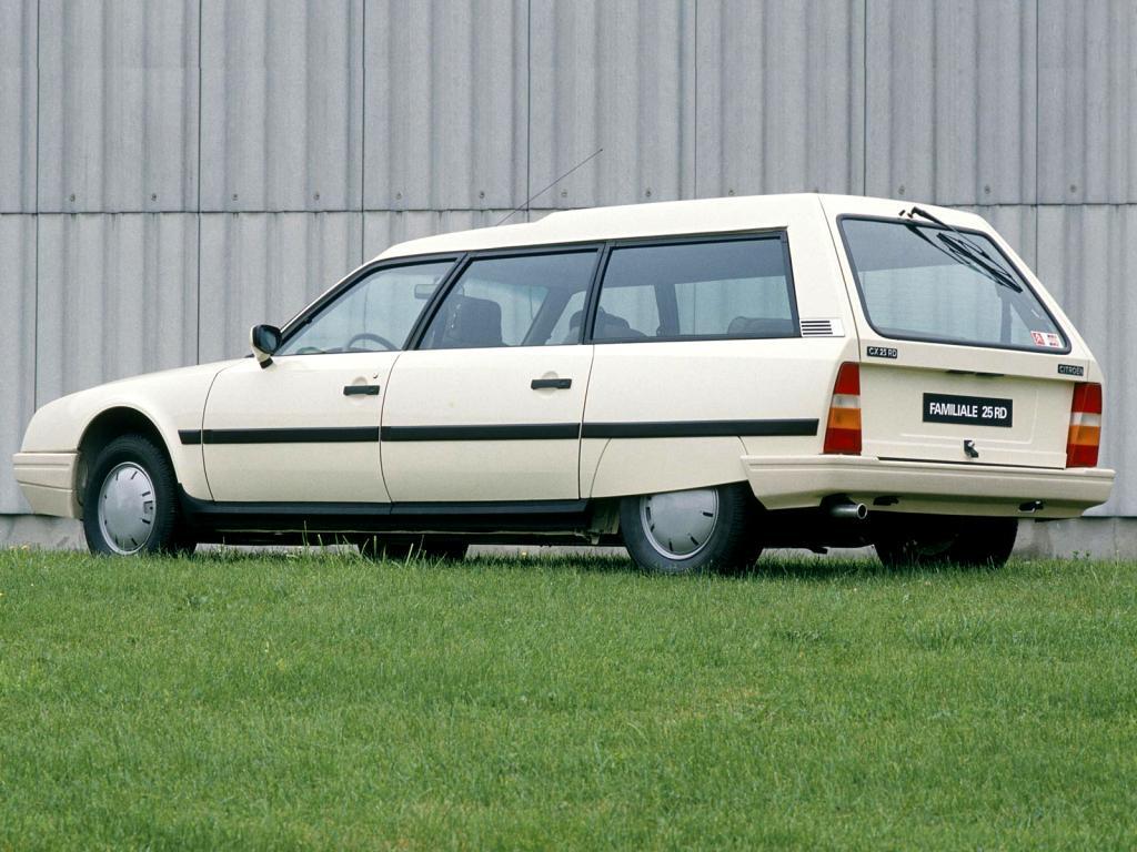 CX 25 RD Familiale 1985 3/4 arrière