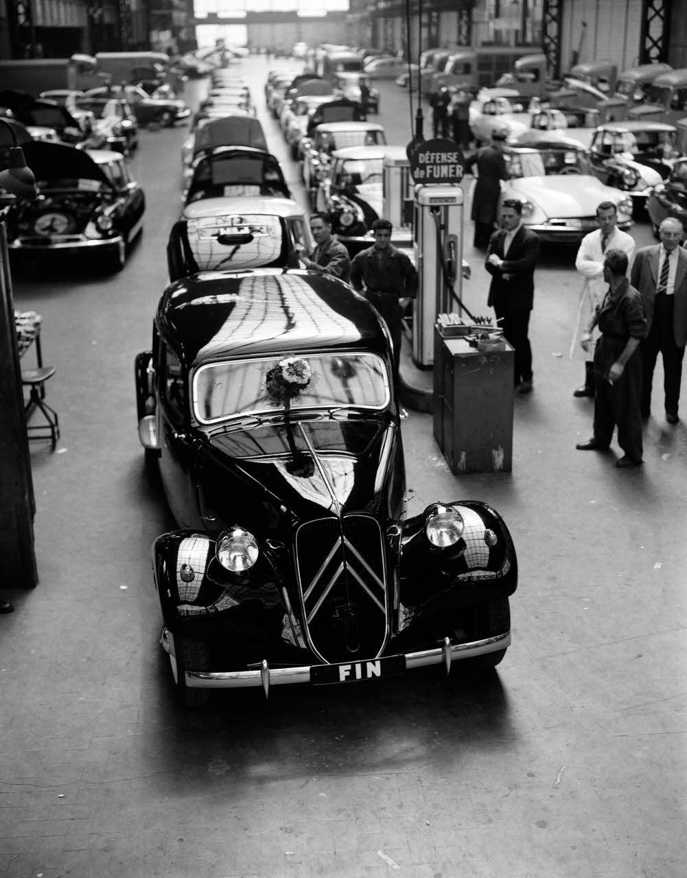 Dernière Traction 11 cv produite en 1957