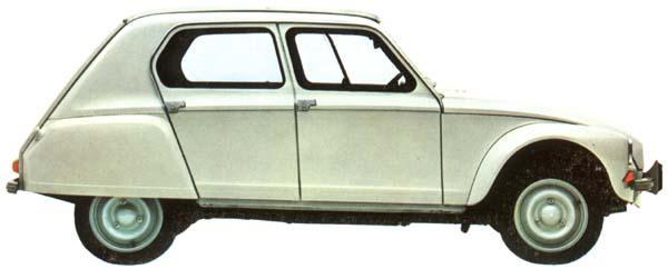 Dyane 1967 profil