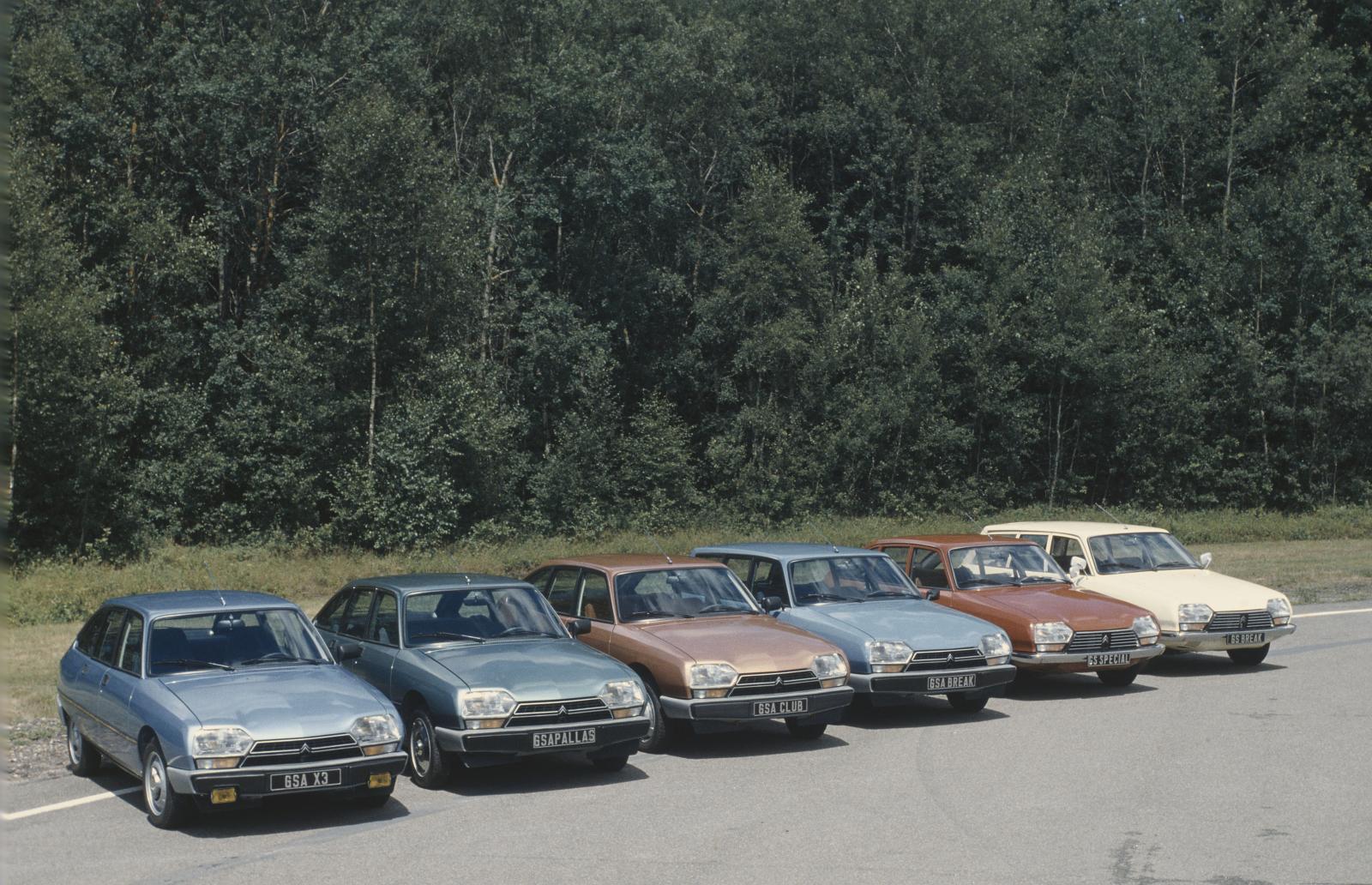 Gamme GSA 1980