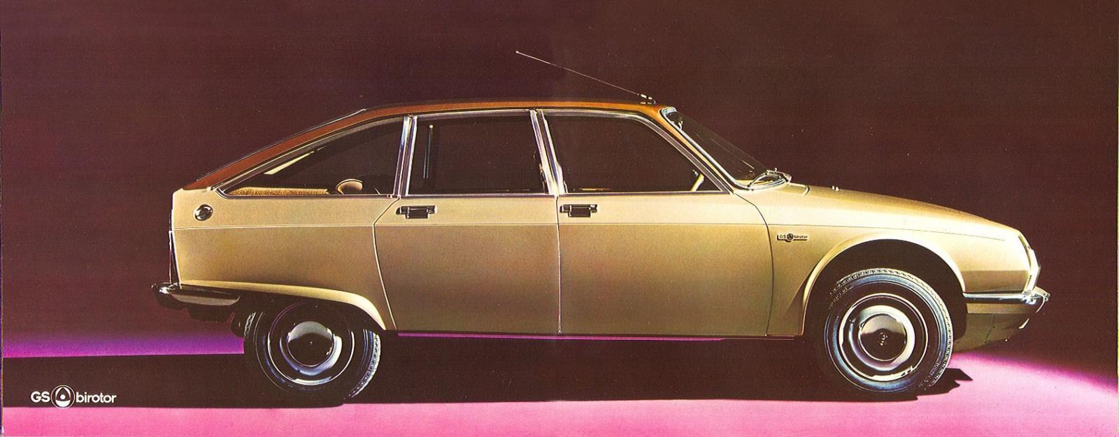 GS Birotor 1973 profil