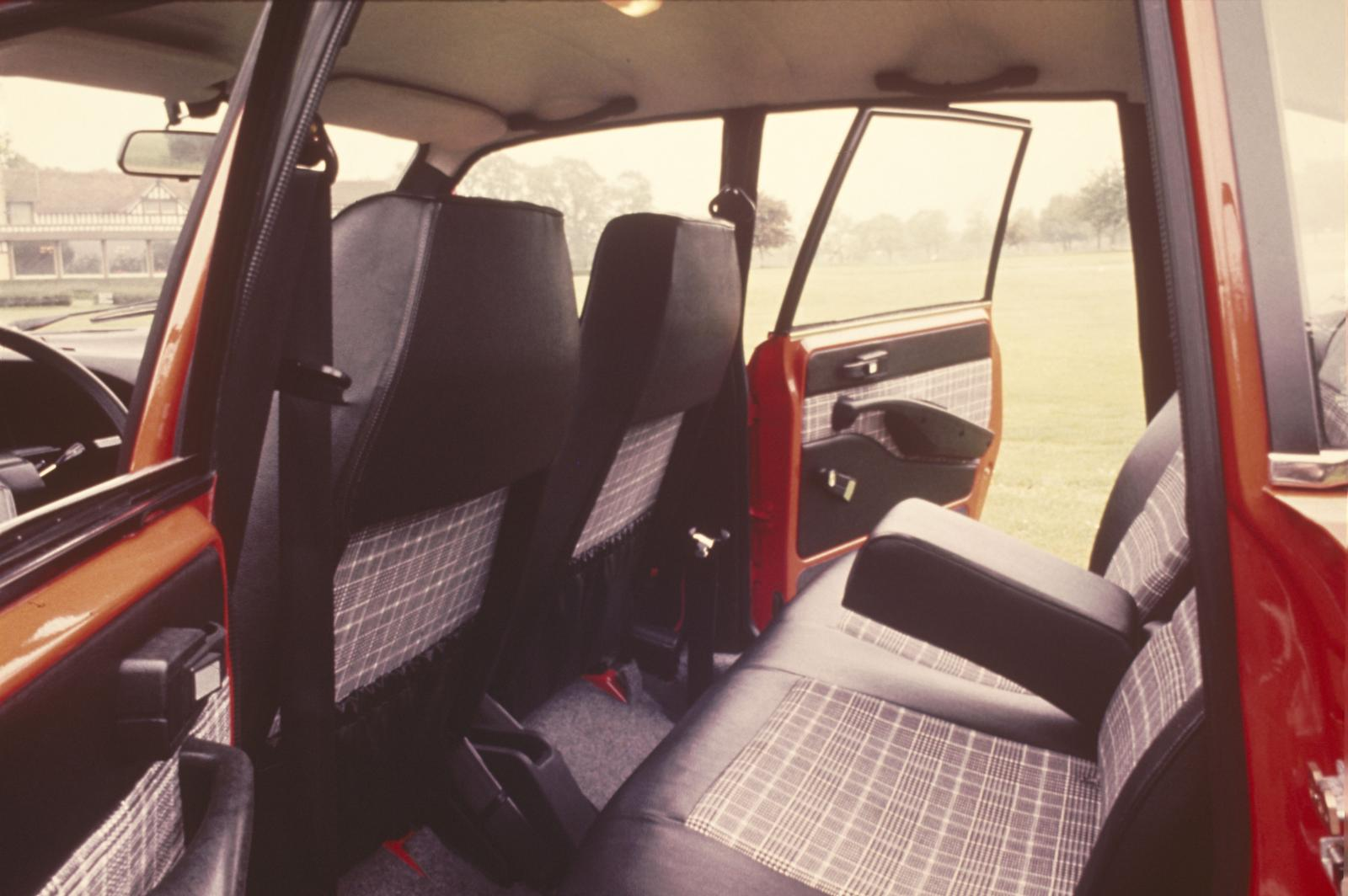 GS X 1978 intérieur arrière