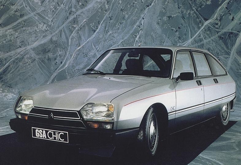 GSA Chic 1985 3/4 avant