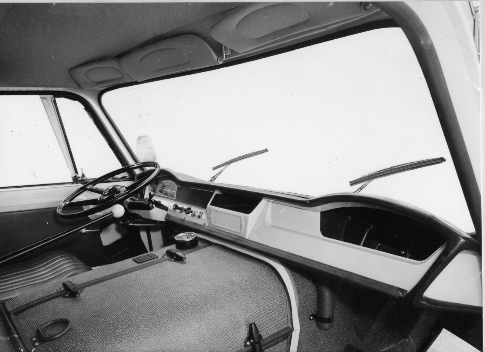 Интерьер грузовика 350. 1965г.