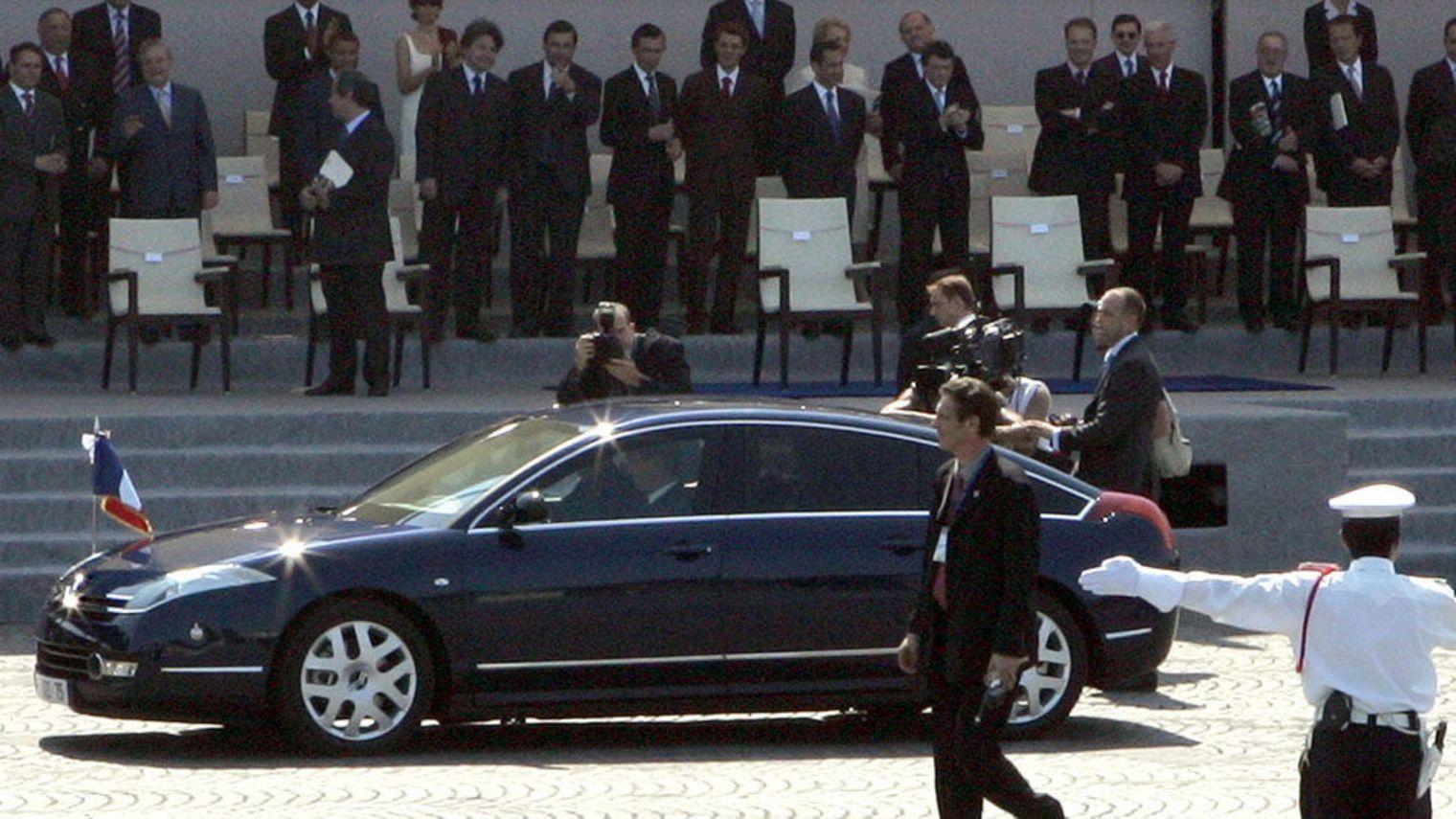 Jacques Chirac en C6 le 14 juillet 2005