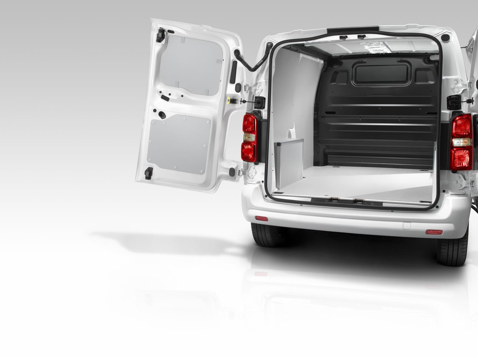 Jumpy 3ème génération 2016 portes arrière