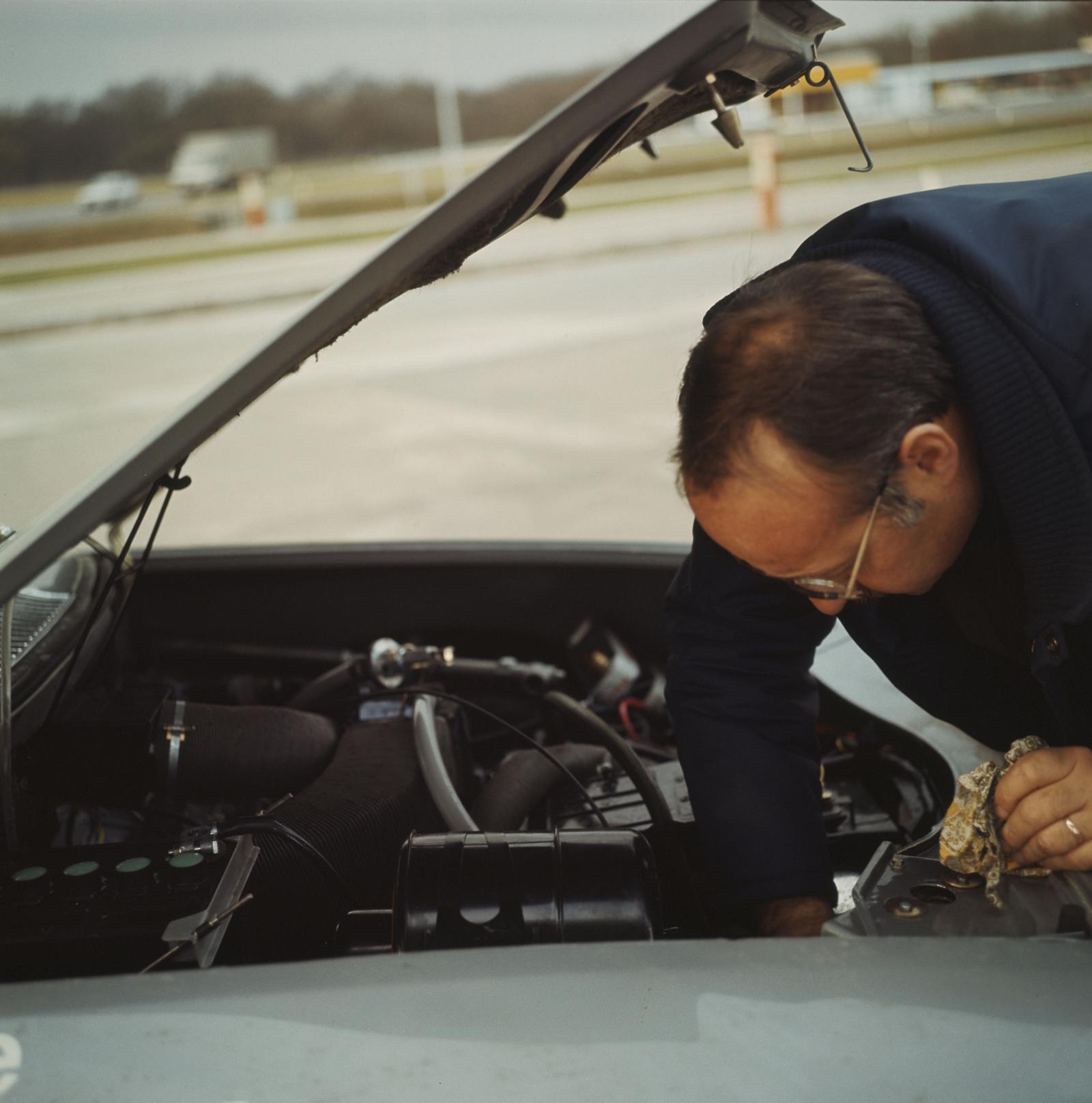 M35 1970 moteur