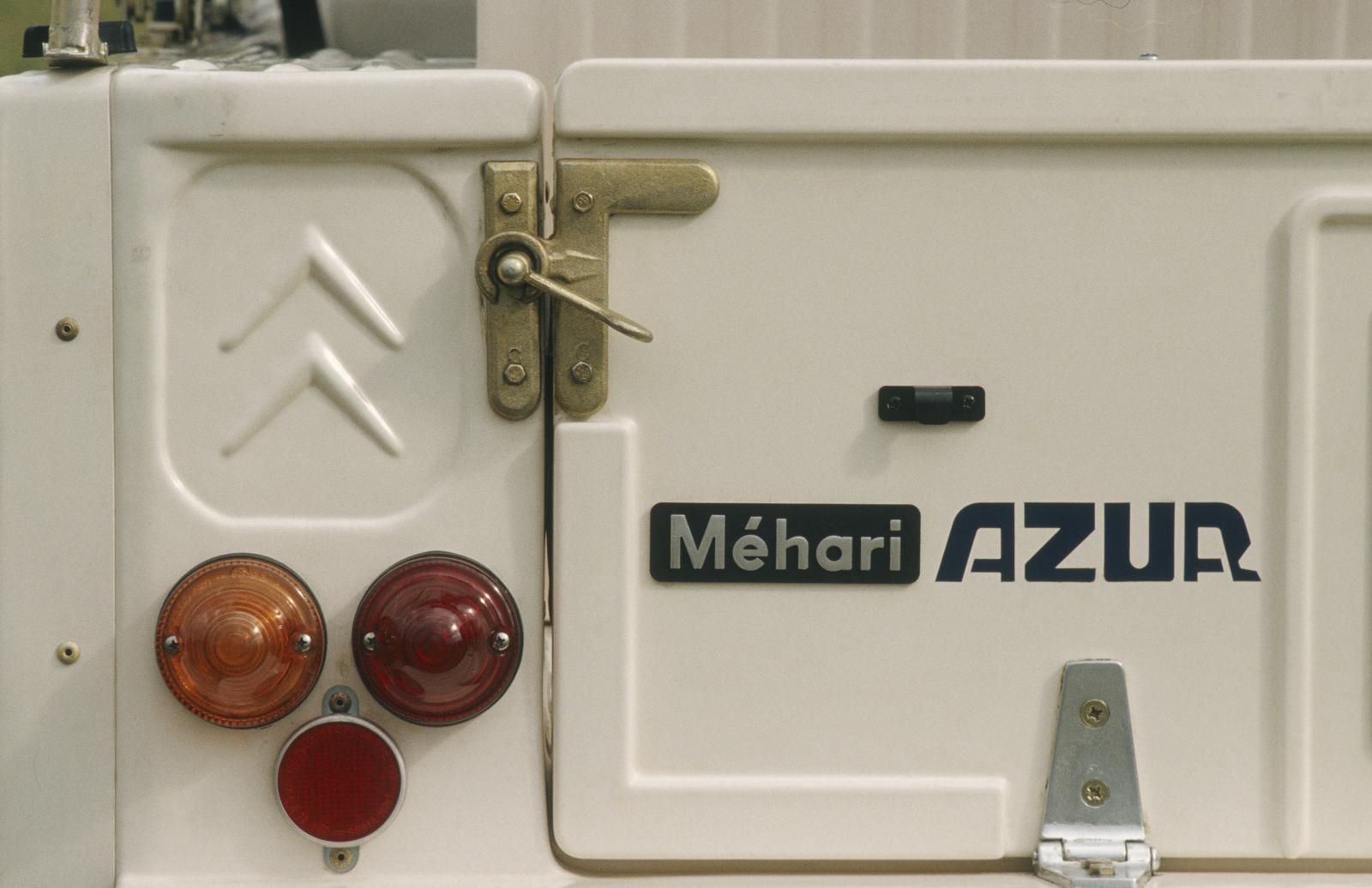 Mehari AZUR 1983 détail feux arrière
