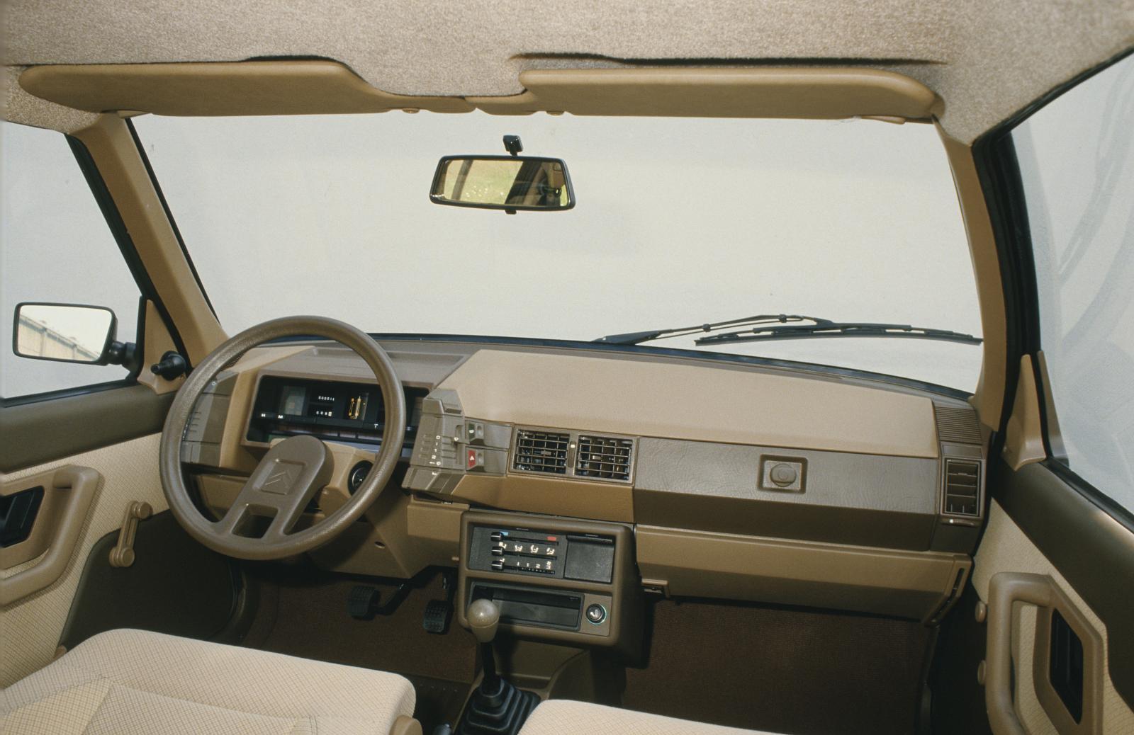 BX série 1 1982-1986 planche de bord
