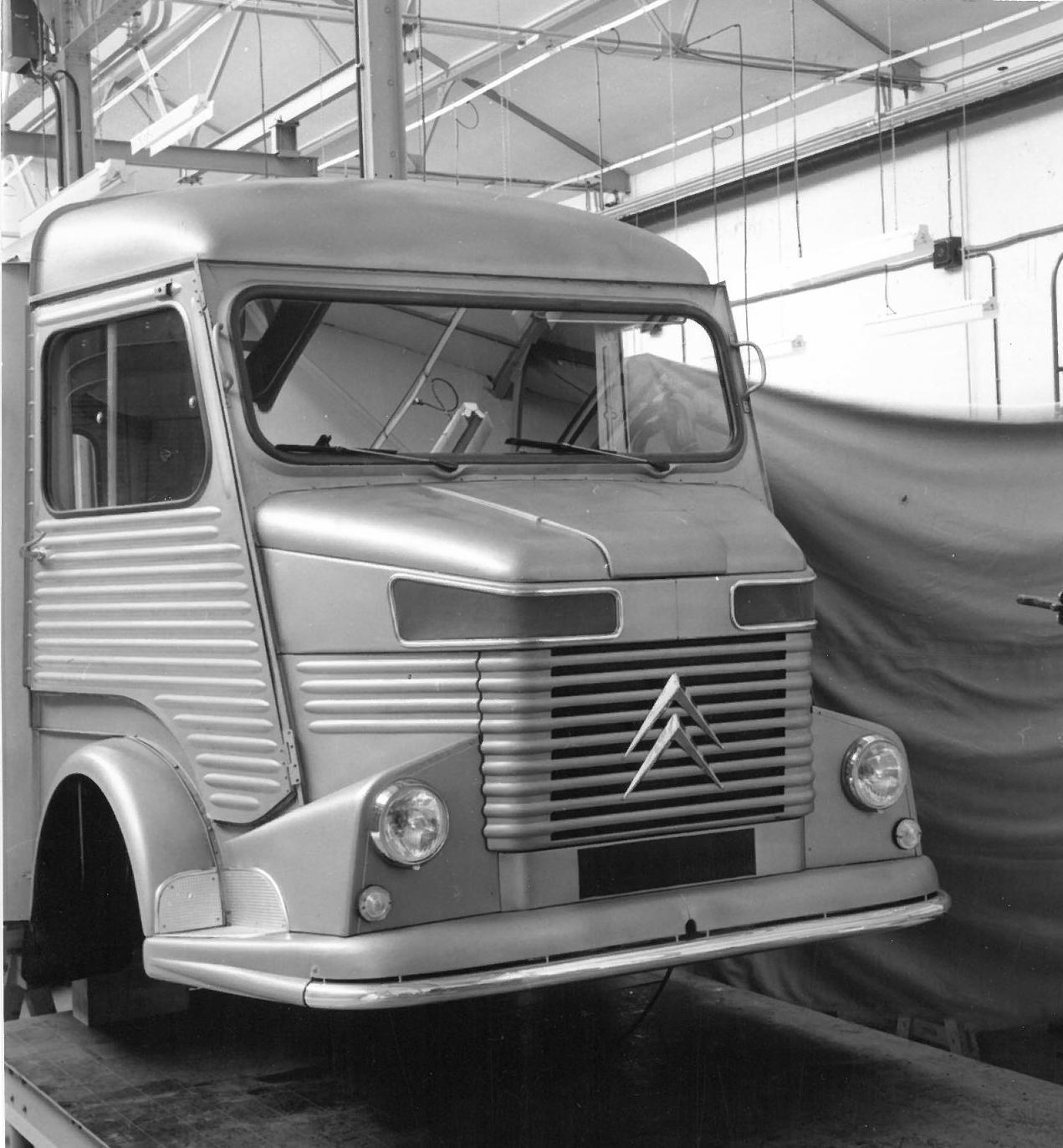 Projet de face avant du Type H 1960