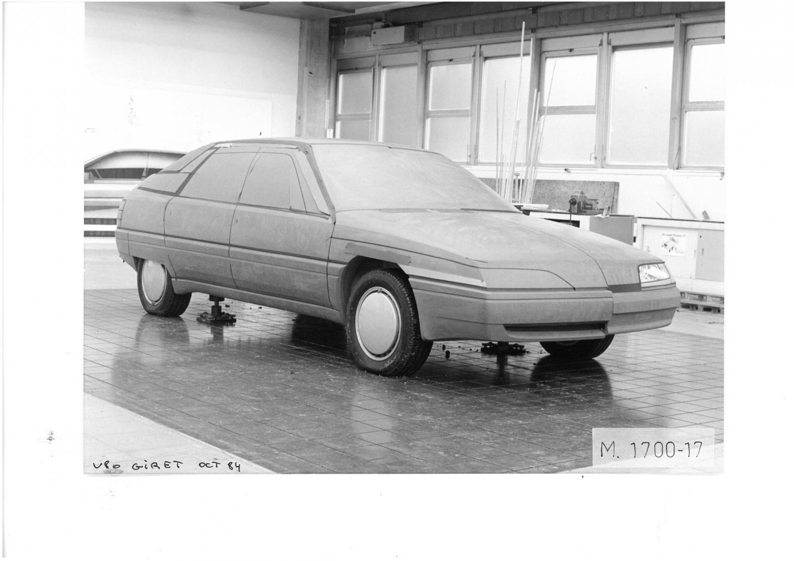 Projet V80 par GIRET 1984