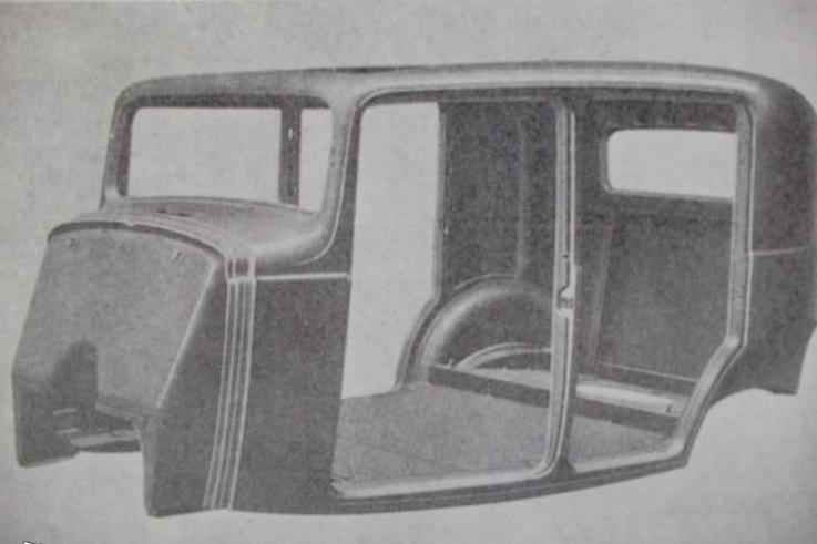 Rosalie 8 1932 caisse en acier